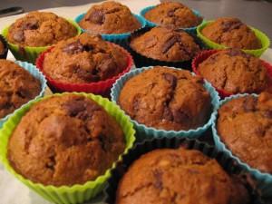 Gulerodsmuffins, glutenfrie